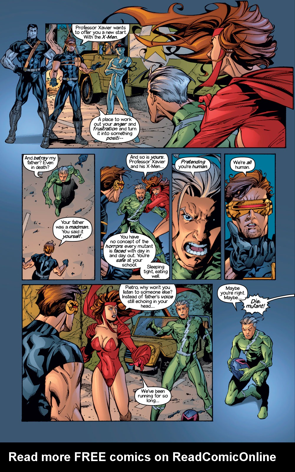 Read online Ultimate X-Men comic -  Issue #1/2 - 13