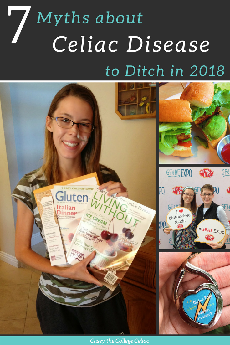 7 Common Myths about Celiac Disease to Ditch in 2018