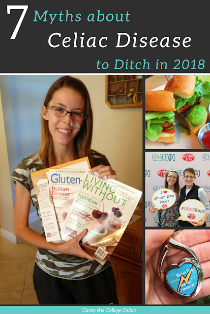 Celiac Disease Facts: 7 Common Myths about Celiac Disease to Ditch in 2018