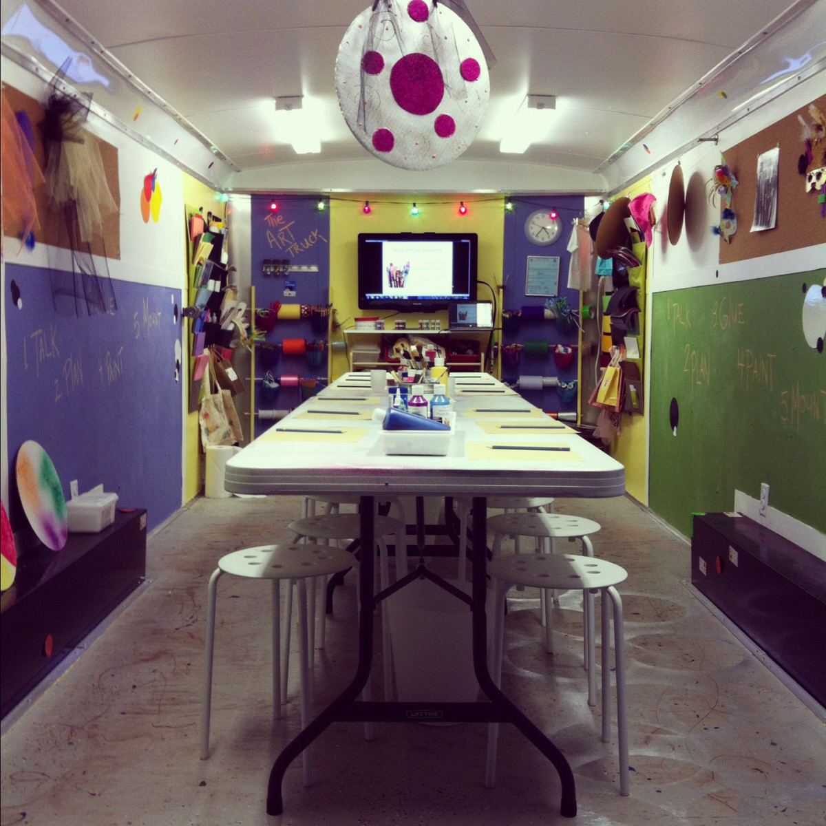 Perfectly creative parties the art truck blog why a for Mobile studio