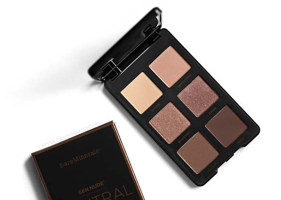 BareMinerals Gen Nude Neutral Eyeshadow Palette Review Photos Swatches