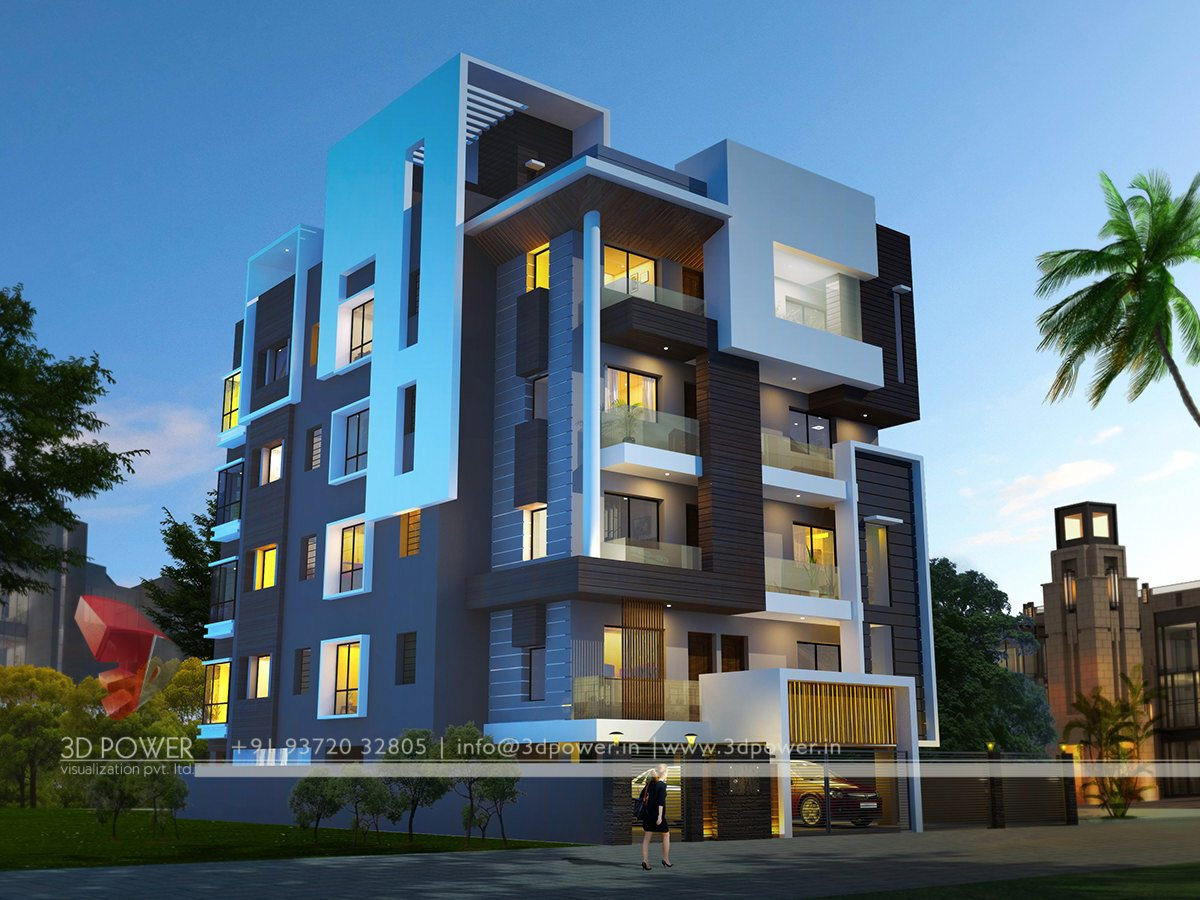 Modern Apartment Building Elevations: Ultra-modern-home-design: July 2015