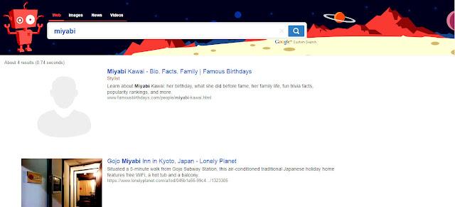 anak saat menggunakan pencarian google