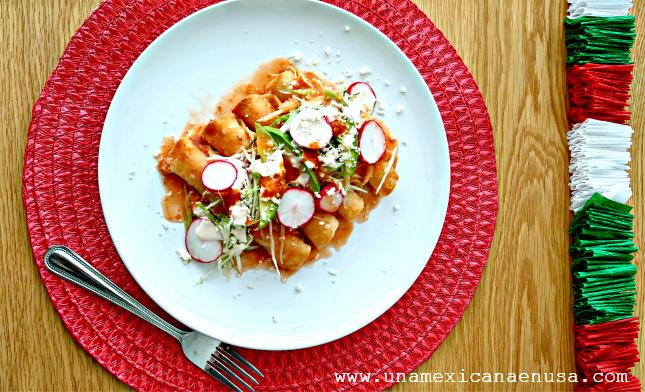 Flautas pollo con papa, receta vía www.unamexicanaenusa.com #unamexicanaenusa