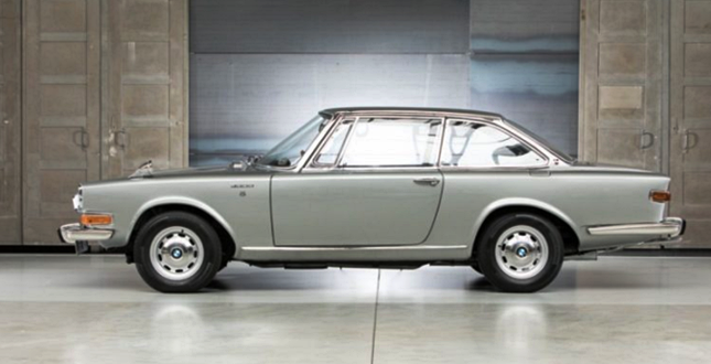 1967 BMW Glas 3000 V8 Review