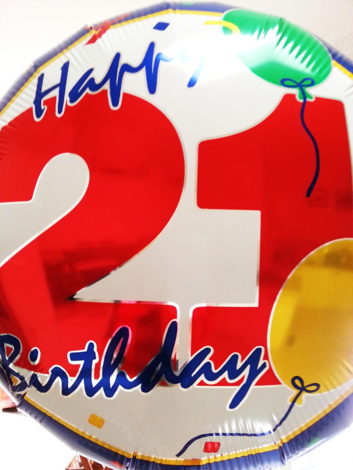Neesie Natters Happy 21st Birthday Son