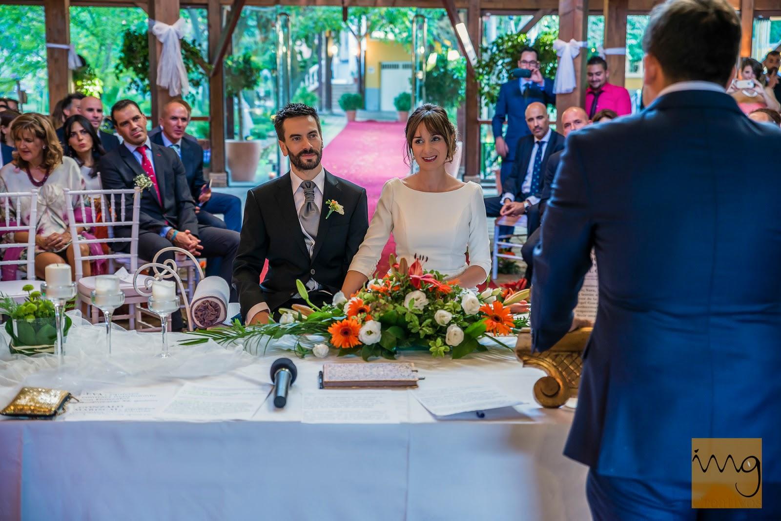 Fotografía de boda en la celebración