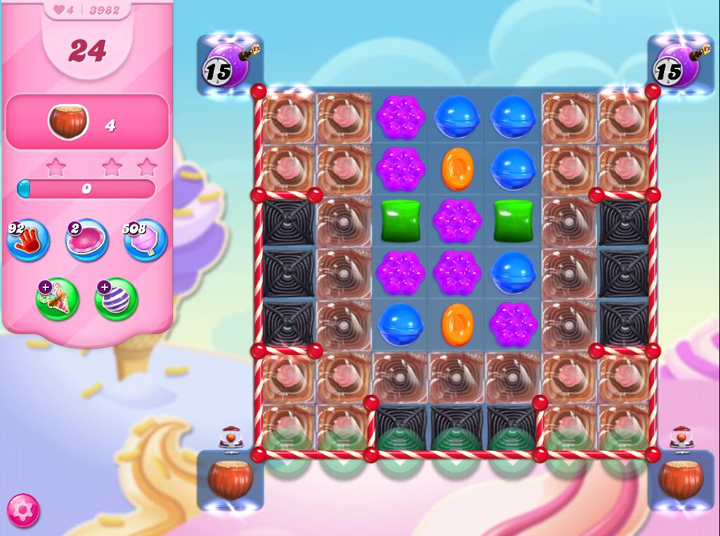 Candy Crush Saga level 3982