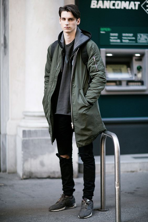 Macho Moda Blog De Moda Masculina Jaqueta Verde Militar Masculina Pra Inspirar E Onde Encontrar