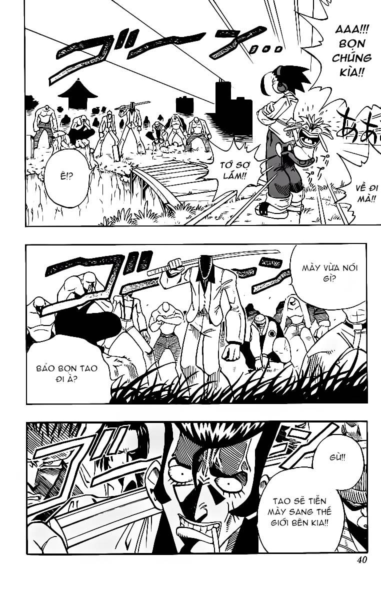 Shaman King [Vua pháp thuật] chap 1 trang 41