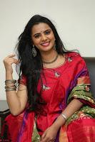 Manasa in Pink Salwar At Fashion Designer Son of Ladies Tailor Press Meet Pics ~  Exclusive 22.JPG