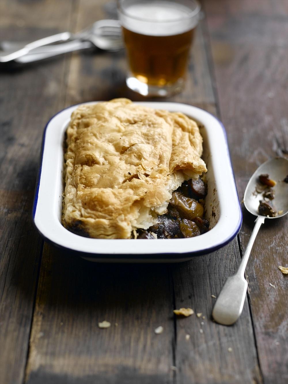 How To Make A Chestnut, Mushroom And Shallot Pie