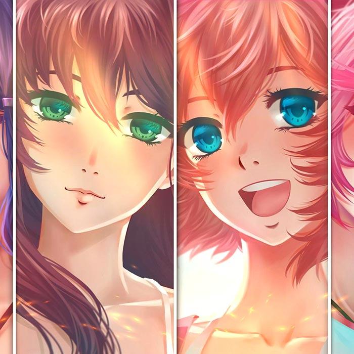 Doki Doki Literature Club - Characters Wallpaper Engine ...