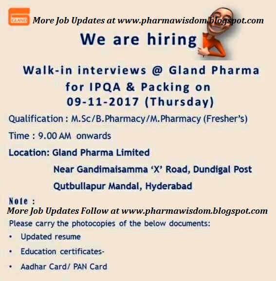 Walk in interview in hyderabad this week for freshers