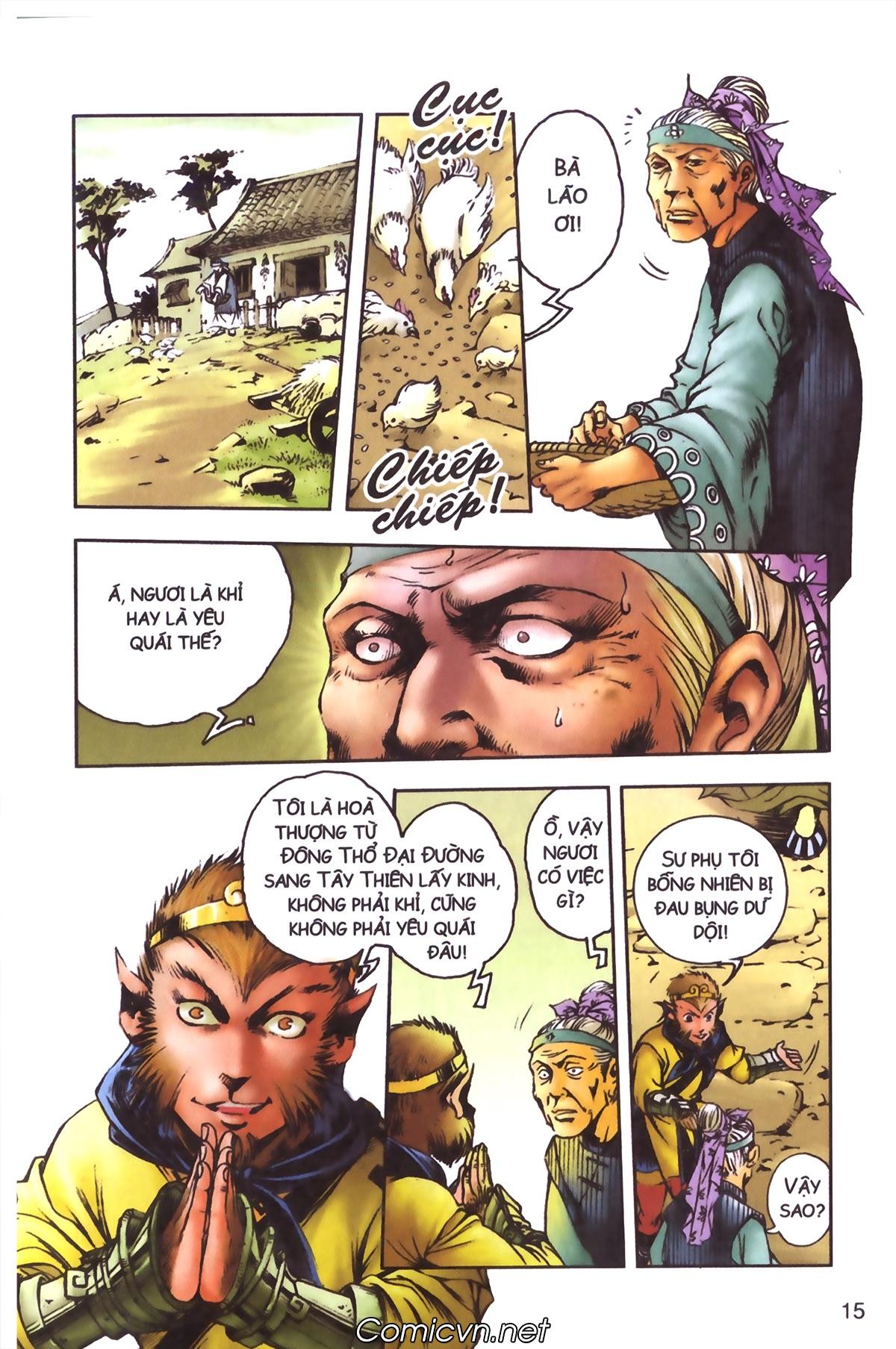 Tây Du Ký màu - Chapter 96 - Pic 13