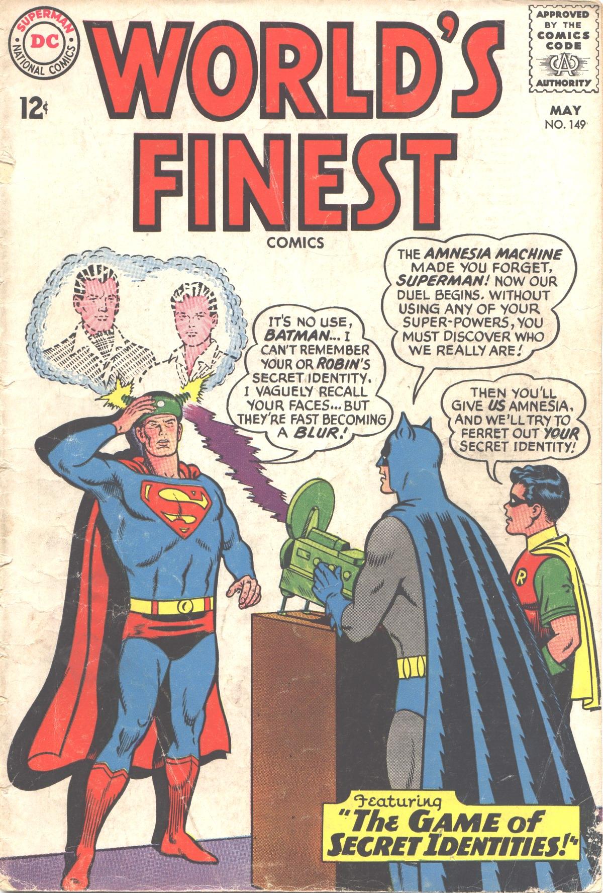Read online World's Finest Comics comic -  Issue #149 - 1