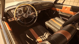 1963 Plymouth Sport Fury Convertible Interior