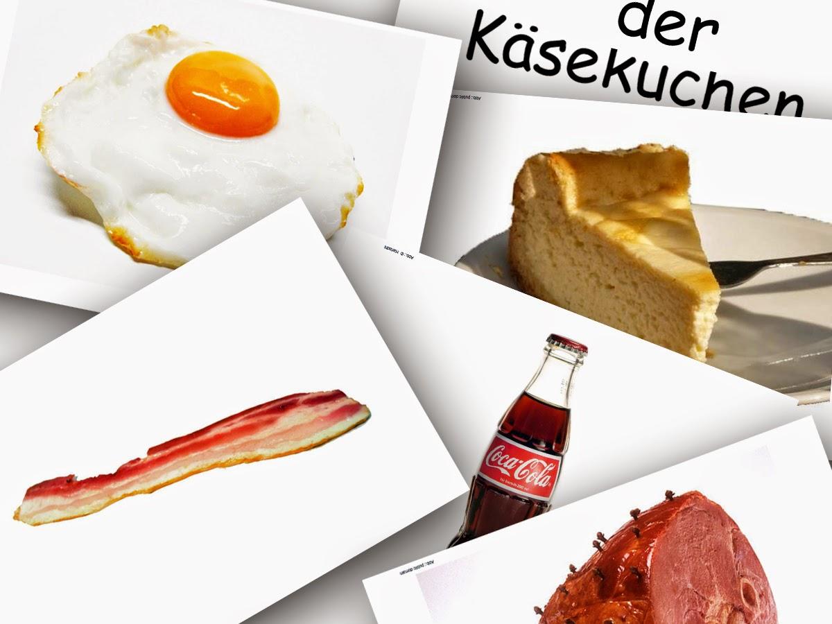 Bildkarten Lebensmittel 2 - DaZ Material für die Sprachförderung in der Grundschule