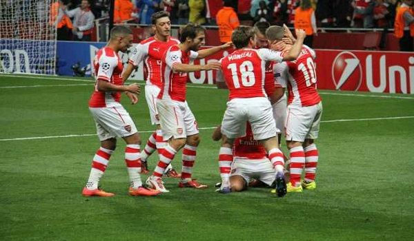 Prediksi BATE Borisov vs Arsenal Liga Eropa