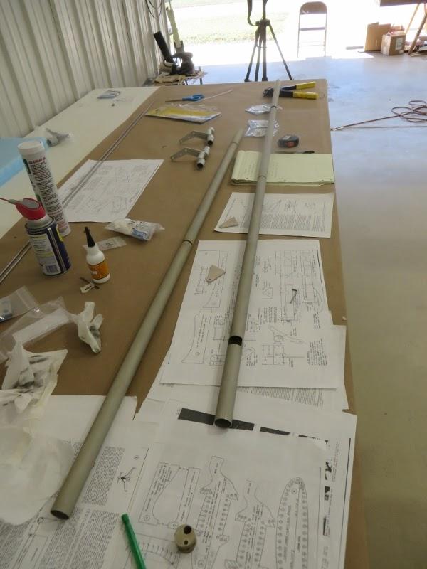 The Long EZ Build: Elevator torque tubes Aircraft Torque Tube Home Design Html on