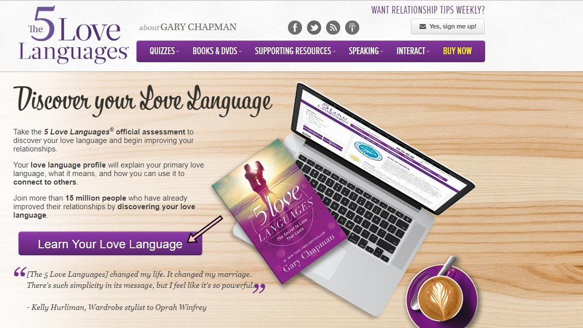 5 Jenis Bahasa Cinta Manusia