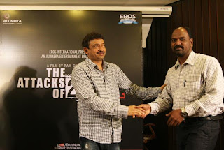 First Look launch of RGV's 'The Attacks Of 26/11' Movie