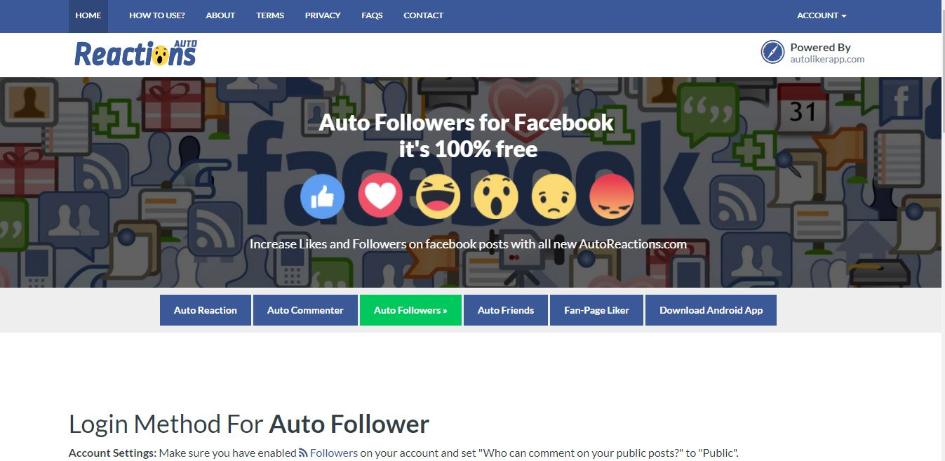 Top 8 Facebook Auto Follower Sites 2017 - 100% Working