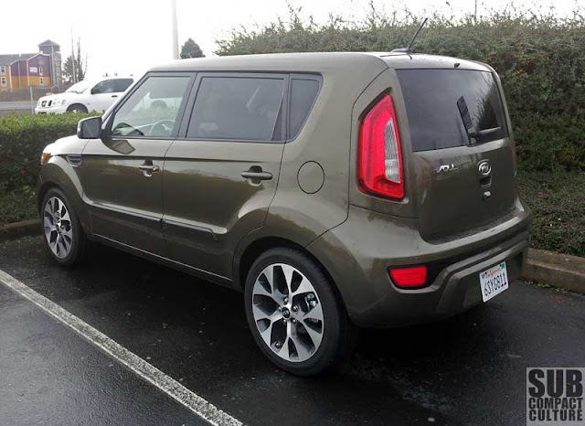 2012 Kia Soul ! rear shot - Subcompact Culture