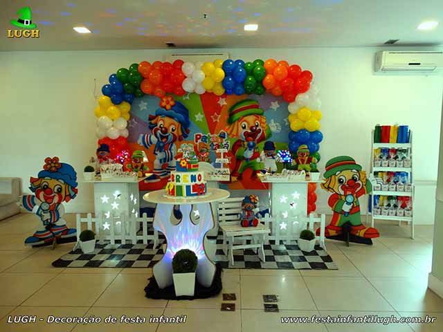 Decoração de aniversário Patatí Patatá - Festa infantil