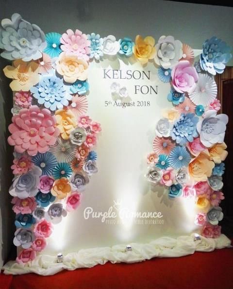 backdrop vendor, supplier, giant paper flower, decoration, planner, event, organizer, handmade, hand crafted, red carpet, noble banquet, wedding, corporate