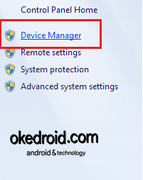 Memilih Device Manager Laptop  Komputer Properties Windows 7