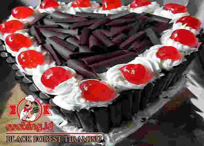 Resep Membuat Black Forest Tiramisu