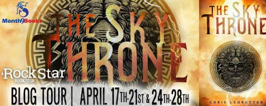 THE SKY THRONE by Chris Ledbetter / Blog Tour: Book Review & Giveaway #TheSkyThrone