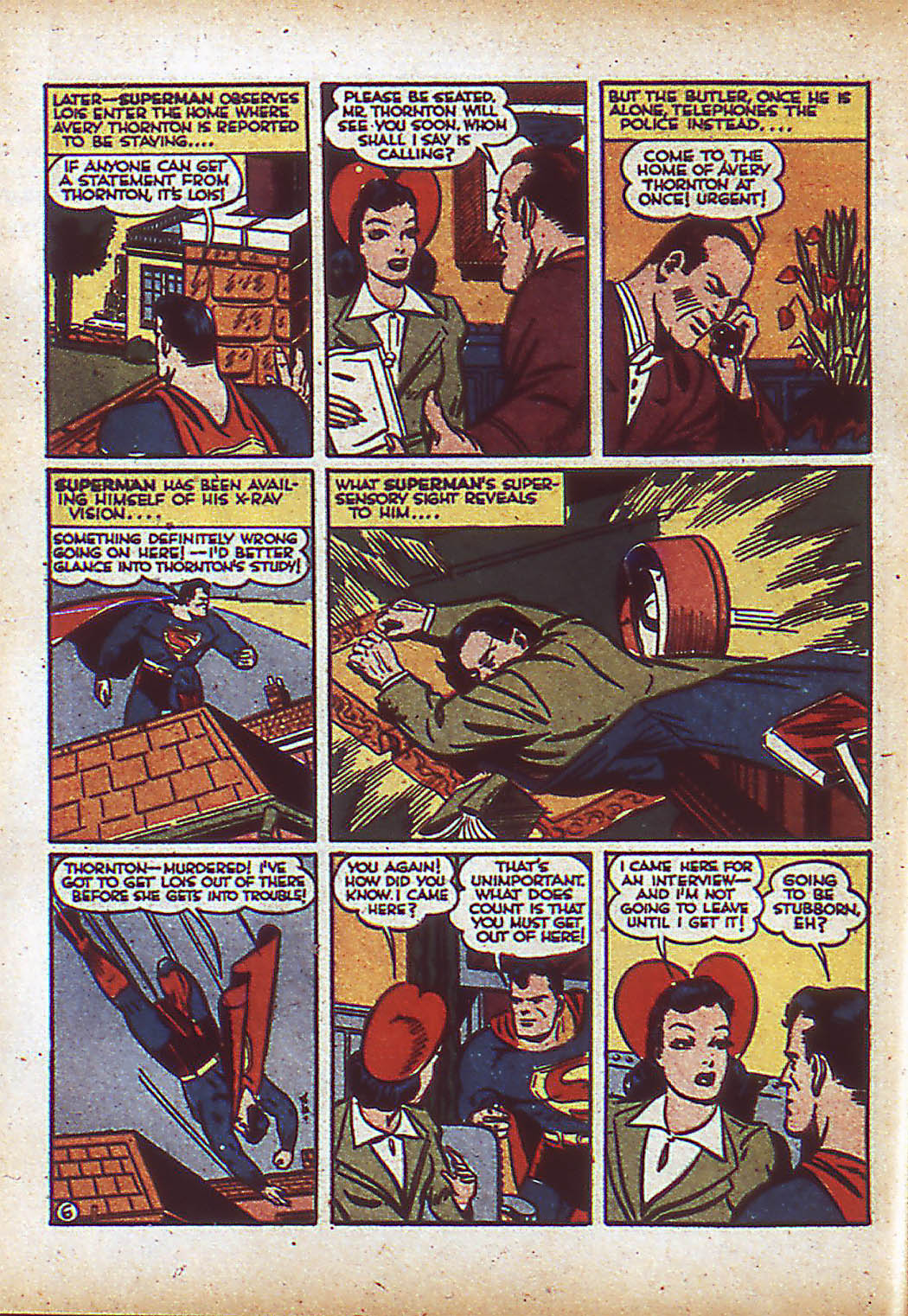 Read online Action Comics (1938) comic -  Issue #43 - 8