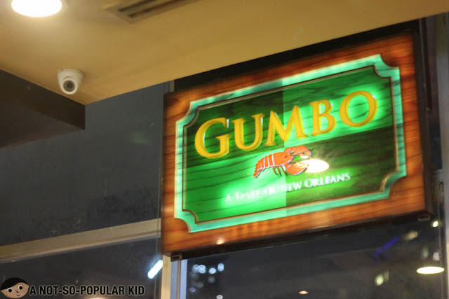 Gumbo Logo/Signage in Robinsons Midtown