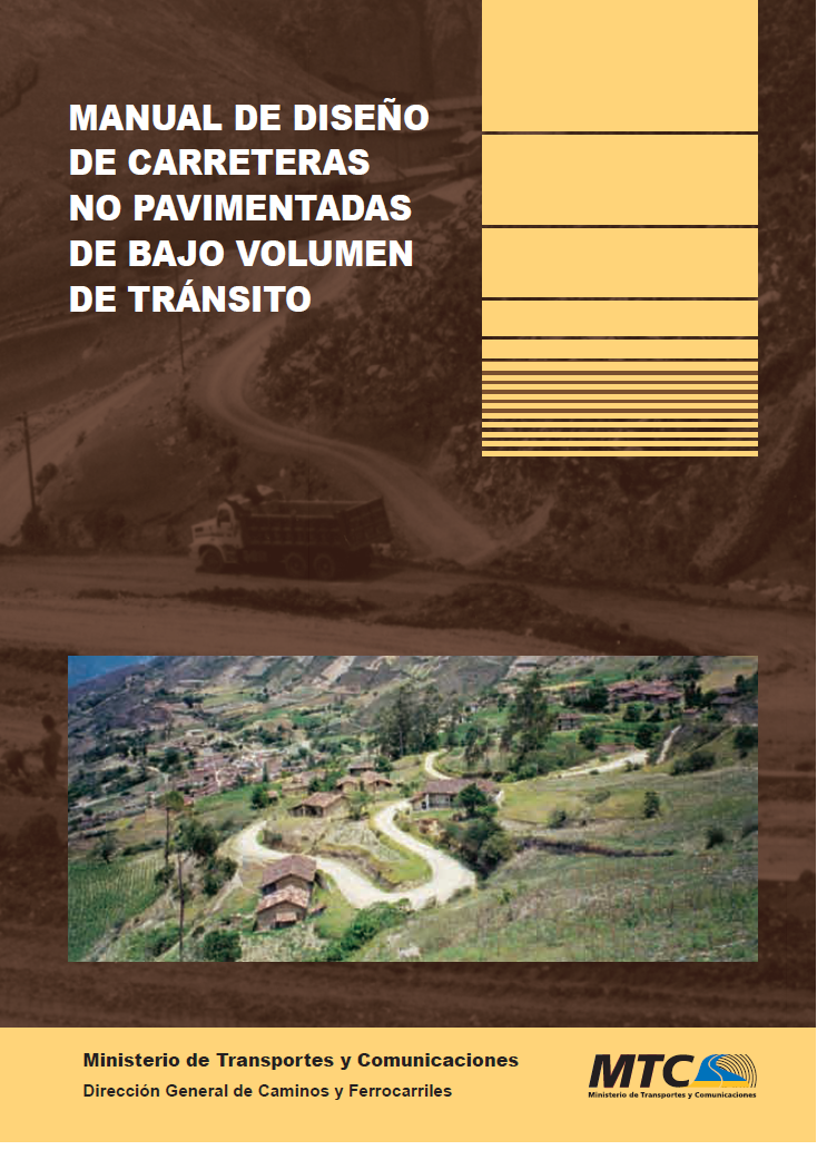 Manual de dise o de carreteras no pavimentadas de bajo for Manual diseno de interiores pdf