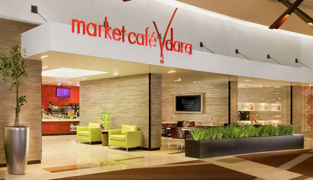 Photo of Market Cafe Vdara - Las Vegas, NV, United States. The grocery store features items that create a luxurious home away from home, including fresh items, meats, wines, and cheeses. Find more Juice Bars & Smoothies near Market Cafe Vdara. Browse nearby. Restaurants. Nightlife. Shopping.3/5().