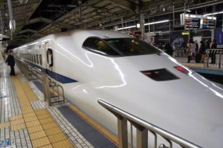 Tokyo-Kyoto - Shinkansen bullet train