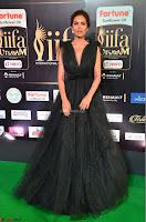 Esha Gupta in a Deep Neck Sleeveless Dark Green Gown at IIFA Utsavam Awards 2017     41.JPG