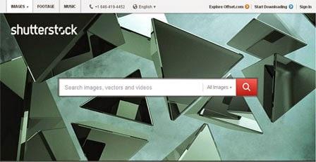 Menjual Foto Secara Online ShutterStock