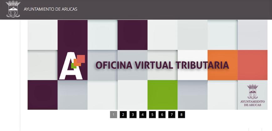 Arucas vive arucas contar a partir de abril con una oficina tributaria virtual - Oficina virtual hacienda ...