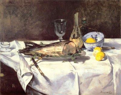 Edouard Manet - le saumon