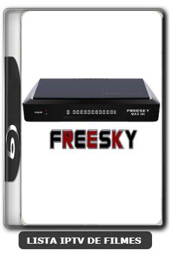 Freesky Max 4K Nova Atualização Melhorias no IKS e SKS V3.5.7 - 15-06-2020