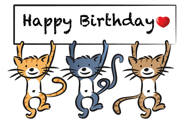 Happy Birthday Kitties