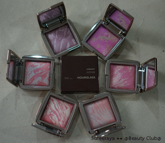 [Review] Hourglass Ambient Lighting Blush ทั้ง 6 สี