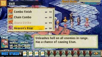 Ragnarok Tactics: Imperial Princess of Light And Darkness PPSSPP