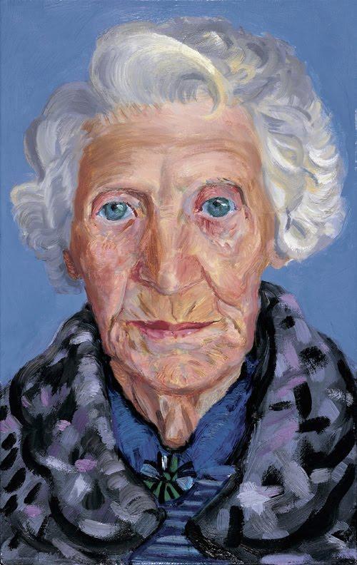 David Hockney, Mum, 1985