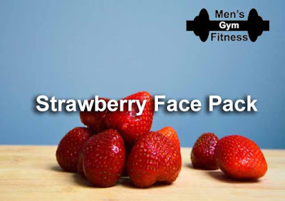 8 Homemade Face Pack Will Make Your Face Glowing & Oil Free In Summer:- Strawberry Face Pack