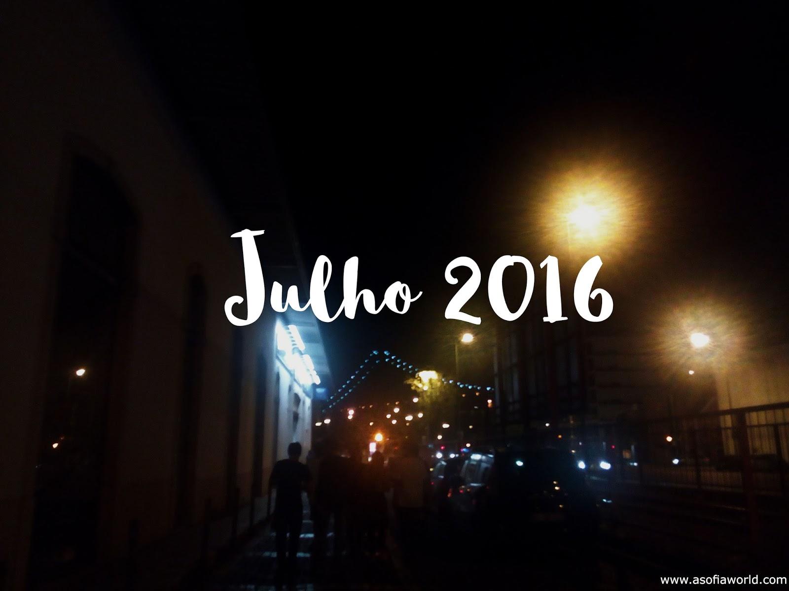 Favoritos: Julho 2016