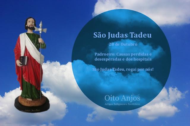 28 de Outubro:  Dia de São Judas Tadeu